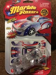Light Up Marble Racer Krazy Kars Marble Racers Patriot Red White Blue Light Up Race Car Blinks Decals