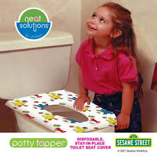 potty topper disposable toilet seat cover sesame street