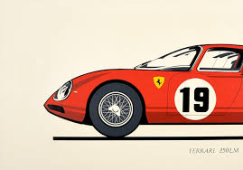 Buy ferrari testarossa posters designed by millions of artists and iconic brands from all over the world. Ferrari Poster 9 For Sale On 1stdibs