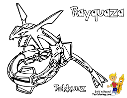 384 Pokemon Rayquaza At Coloring Pages Book For Kids Boys 10 Groudon