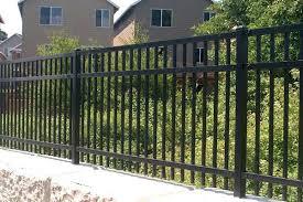 Steel Panel Fence Ornamental Steel Aluminum Fencing Iron Fence