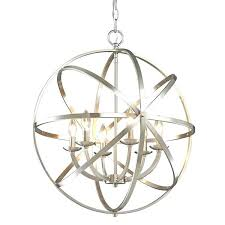 astounding nickel orb chandelier z lite 6 light brushed nickel chandelier brushed nickel globe chandelier home