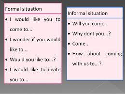 Formal Invite Invitation
