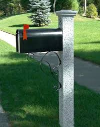 double mailbox post. Mail Double Mailbox Post