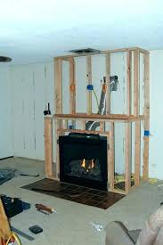 how much to install gas fireplace amazing cost fireplaces b vent pertaining 5 in basement