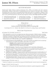 Accounting Resume Objective Samples Professional Picture Examples At ...