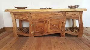 Unique Wooden Furniture Rustic End Tables 600x535 Unique Wooden