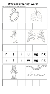 Here, you will find free phonics worksheets to assist in learning phonics rules for reading. Phonics Ng Sound Worksheet