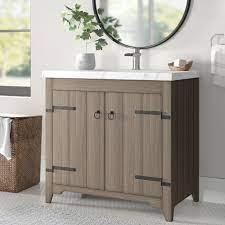Millwood Pines Sia 36 Single Bathroom Vanity Set Reviews Wayfair