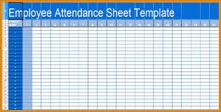 Employees Attendance Sheet Template Employee Attendance Log Basic Employee Attendance Sheet Calendar