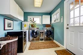 this laundry room is just adjacent to the patio so it has a lot of