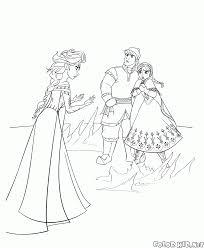 Disegni Da Colorare Elsa Anna E Kristoff