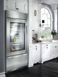sub zero glass door sub zero kitchen view glass door mini fridge menards