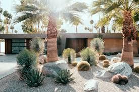Palm Springs Garden Design Favorite Front Yard Desgn Ideas Sunset Magazine