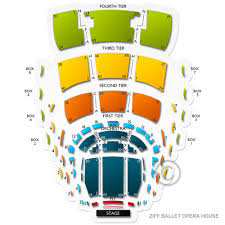 Ziff Ballet Opera House Seating Chart Ziff Ballet Opera House At Adrienne Arsht Pac Tickets