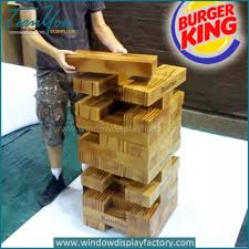 Wooden Bricks Game Lightly Wood Bricks Tower Game Pieces 86