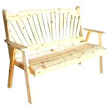 red garden bench the a l furniture western cedar outdoor backless uk nias nia and with red garden bench