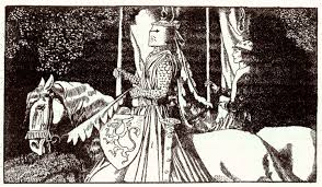 sir gawain by howard pyle from the story of king arthur and his knights