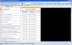 Wedding Excel Checklist 15 Useful Wedding Spreadsheets Excel Spreadsheet If