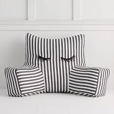 Meritt Lashes Striped Lounge Pillow