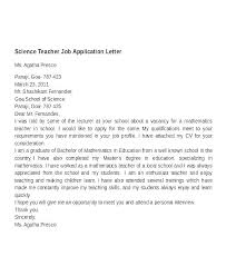 Example Cover Letter For Teaching Position Sample Cover Letters For Teaching Positions Vitadance Me