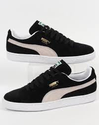 puma shoes suede black. puma suede classic trainers black/white shoes black t