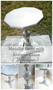 diy metallic furniture. Diy Metallic Furniture. DIY Paint With Antique Glaze Furniture R