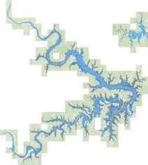 Keystone Lake Fishing Map Us_tu_ok_keystone Nautical