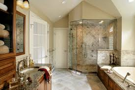 master bathroom remodeling. Master Bathroom Remodel With Natural Stone And Oversized Shower Traditional- Remodeling
