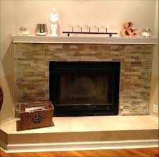 diy faux fireplace mantel and surround stone electric plans