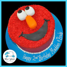 Buttercream Elmo Cake Blue Sheep Bake Shop