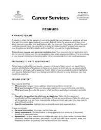 Current College Student Resume Template Best College Student Resume