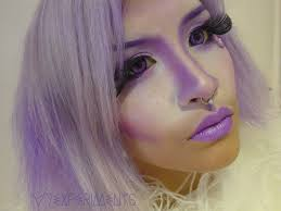 purple fairy princess makeup tutorial