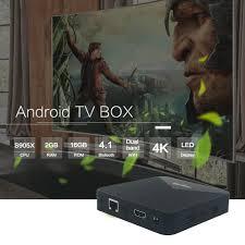 Android Tivi Box Magicsee N5 - Bản Dual Wifi - Chip S905X - Ram 2GB - Rom  16GB - Rom ATV - Hãng Chính Hãng - Android TV Box, Smart Box