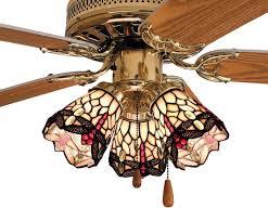 Tiffany Ceiling Fan Light Shades 4 Inch W Tiffany Hanging Head Dragonfly Fan Light Shade