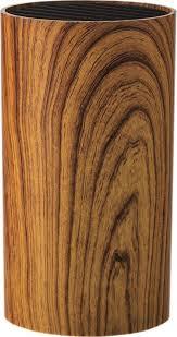 <b>Подставка для ножей Walmer</b> Aspen Wood, коричневый, 9 х 9 х ...