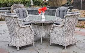 Aries Outdoor Wicker Dining Set