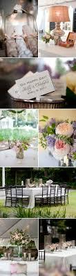 lavender decor at southern garden wedding reception at william aiken house in charleston south carolina