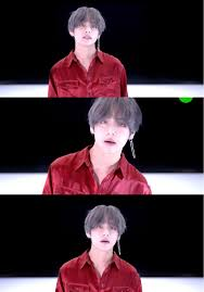 Oh Hello Dangling Earring V Bts Dna Loveyourself テテ