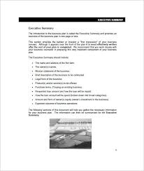 executive business plan template farm business plan template 13 free word excel pdf format