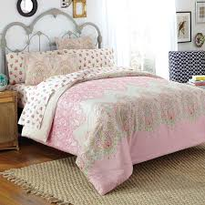Amazon.com: Free Spirit Victoria Comforter Set, Queen, Pink: Home ... & Amazon.com: Free Spirit Victoria Comforter Set, Queen, Pink: Home & Kitchen Adamdwight.com