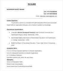 Sample Resume For Fresher Accountant Accounting Resume Format For