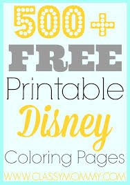 Small Picture 500 Free Printable Disney Coloring Pages