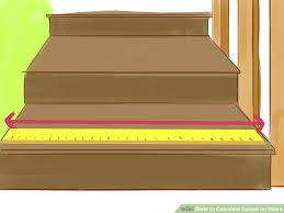 carpet on stairs. image titled calculate carpet on stairs step 1
