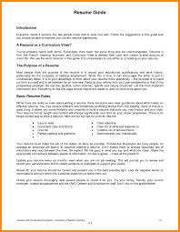 Resume For First Job Examples 8 Resume For Job Examples