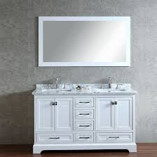 white double sink bathroom vanities. stufurhome 60\ white double sink bathroom vanities r