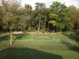 13 Homes With OlympicWorthy Athletic Facilities  HuffPostFootball Field In Backyard