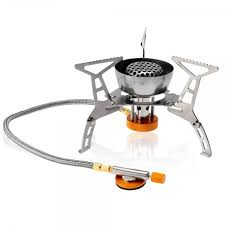 LIXADA-3200W-Outdoor-Foldable-Camping-Cooking-Gas-Stove- LIXADA 3200W Outdoor Foldable Camping Cooking Gas Stove Silvery