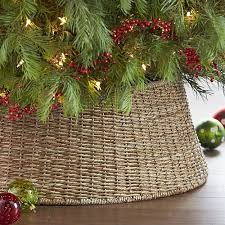 the abaca tree collar basket tree stands