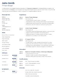 Basic Resume Template Inspiration Graphic Resume Templates